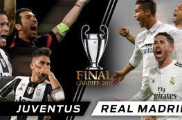 ريال مدريد ويوفنتوس ضد الغيابات في نهائي كارديف