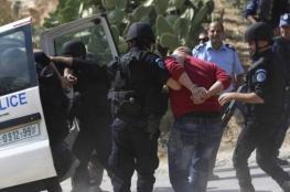 القبض على مطلوب صادر بحقة 8 أوامر حبس برام الله
