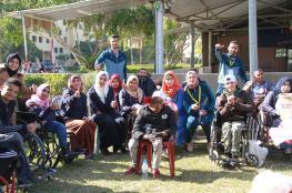 """انطلاق مخيم """"غزة أقوى بإرادتها"""" لذوي الاحتياجات الخاصة"""