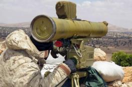 لحظة مقتل اثنين من جنود الاحتلال بصاروخ موجه لحزب الله