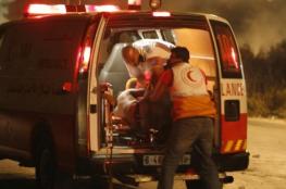 إصابة 6 مواطنين في حريق التهم منزلهم شرق غزة