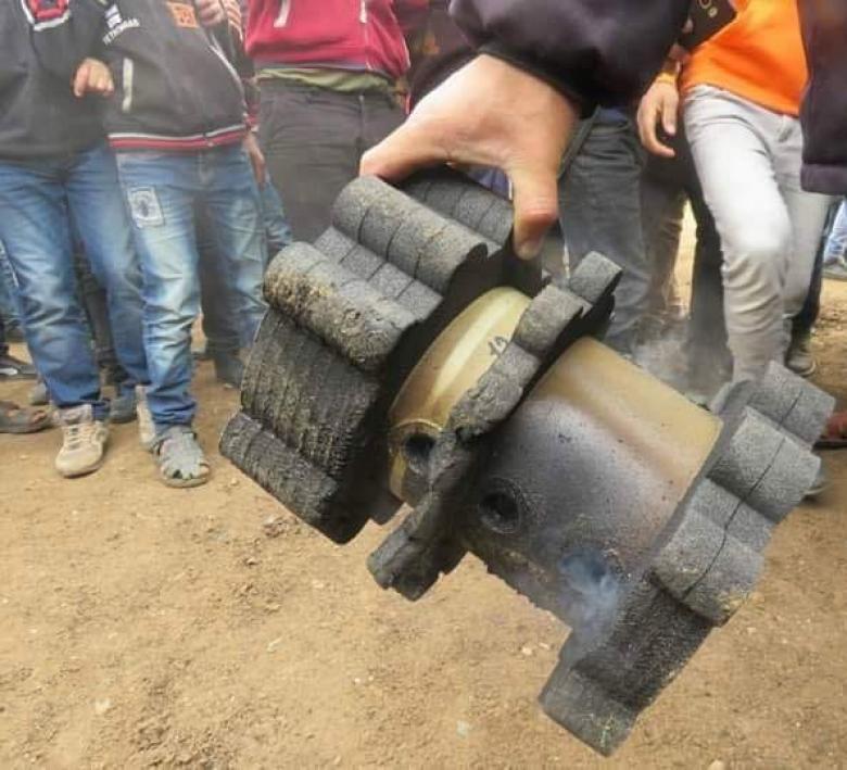 الاحتلال يستخدم نوعًا جديدًا من الغاز ضد المتظاهرين