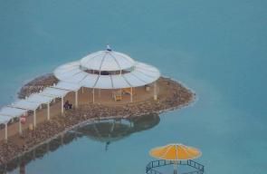 الطبيعة الخلابة في منطقة البحر الميت
