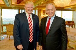 نتنياهو: سأطلب من ترامب المساعدة في العملية السلمية