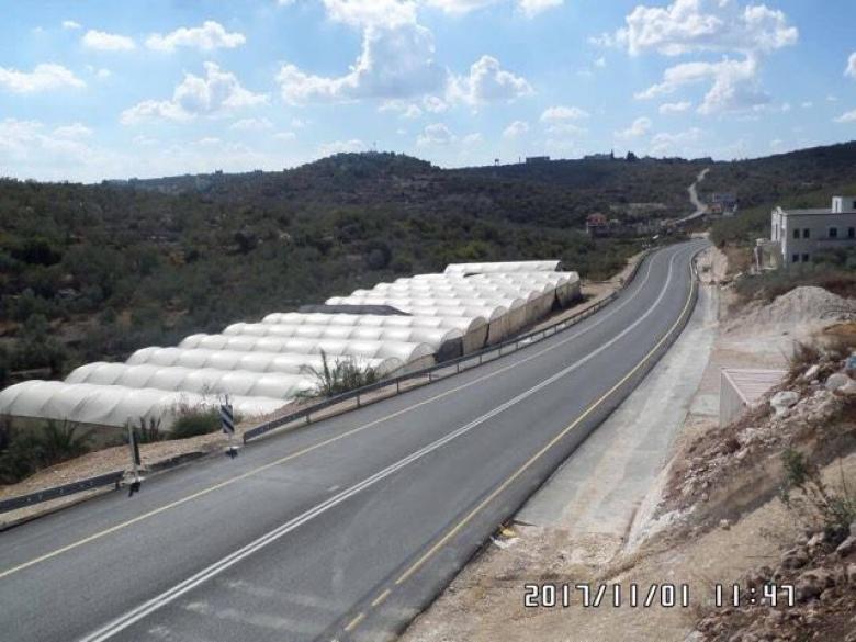 الأشغال تنهي إعادة تأهيل طريق دير الغصون