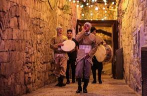 مسحراتي القدس.. مشهد جميل رغم بشاعة الاحتلال