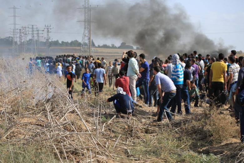 إصابة مواطن برصاص الاحتلال شرق غزة