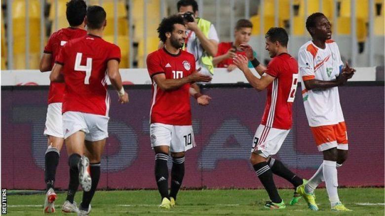 محمد صلاح يتألق مع منتخب مصر