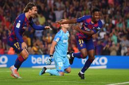 برشلونة يسحق فالنسيا والريال يتفادى مفاجأة ليفانتي