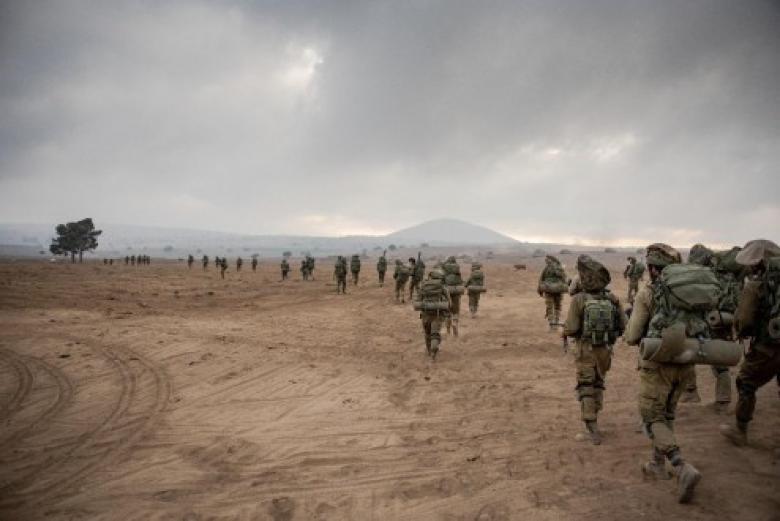 """الاحتلال يجري مناورة عسكرية شمال """"تل أبيب"""" غدا الأربعاء"""