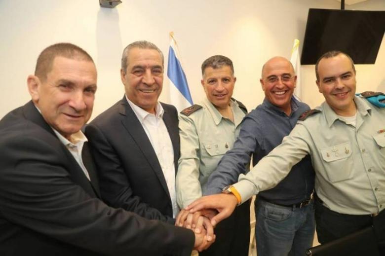 """تفاصيل رسالة """"المنسق"""" الإسرائيلي لحسين الشيخ"""