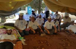 تواصل اعتصام موظفي الأونروا المفصولين بغزة