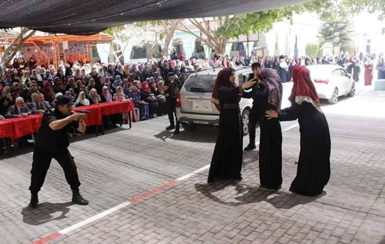 غزة: تمثيل مسرح جريمة لمتخابر مع الاحتلال