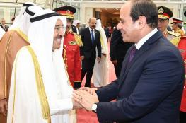تفاصيل الاتصال الهاتفي بين السيسي وأمير الكويت