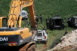 الاحتلال يجرف أراضي زراعية جنوب طولكرم