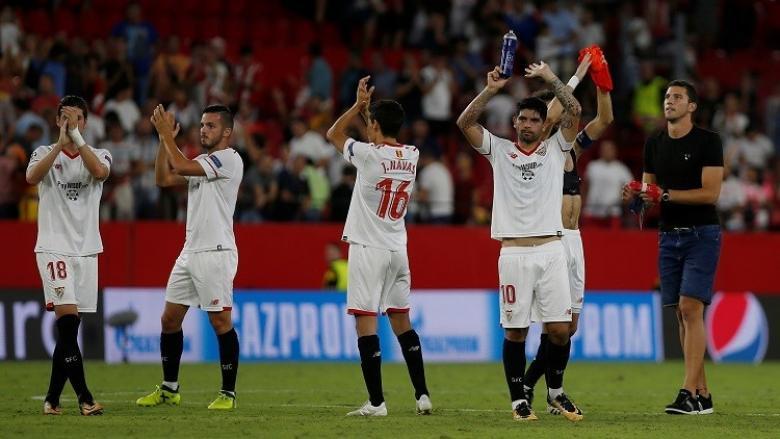 إشبيلية يبلغ دور المجموعات من دوري الأبطال