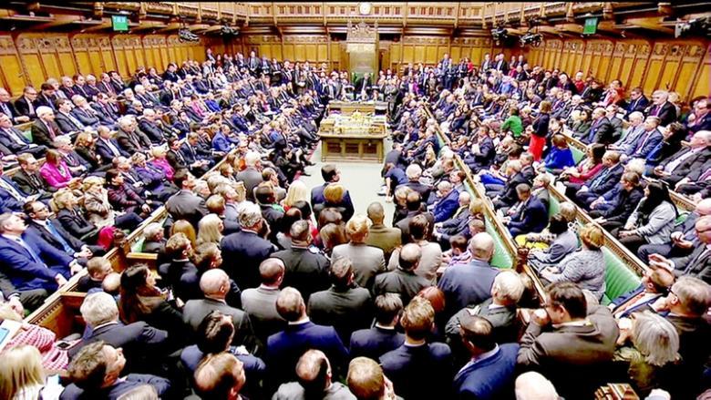 النواب البريطانيون يرفضون اتفاق بريكست مع الاتحاد الأوروبي