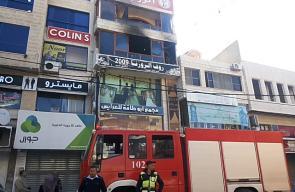 الدفاع المدني يسيطر على حريق داخل مطعم في طولكرم