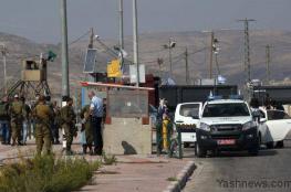 شهيد فلسطيني برصاص الاحتلال على حاجز زعترة