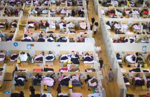 الصين تنشر صورا من داخل المستشفى المؤقت