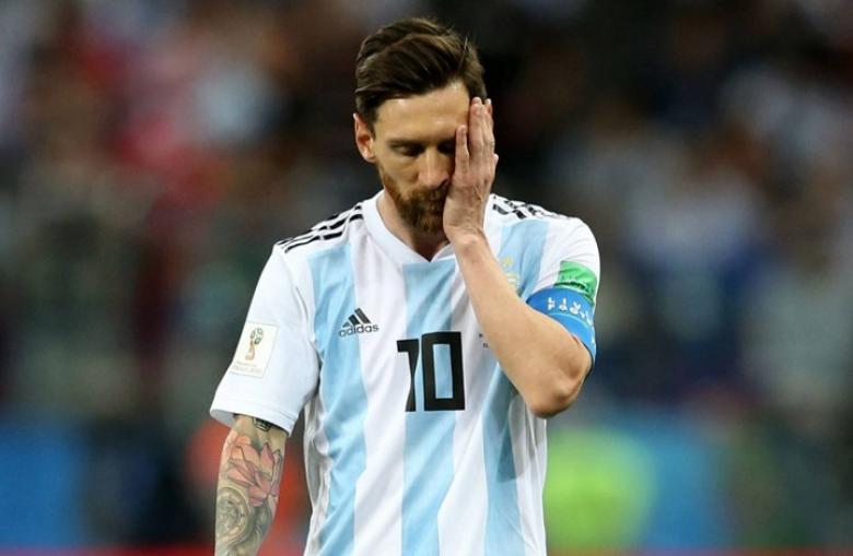 """""""العقوبة"""" تُغيِِب ميسي عن مواجهة الأرجنتين وألمانيا"""