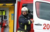 رجال الإطفاء يحققون حلم إمراة في عيد ميلادها الـ 112