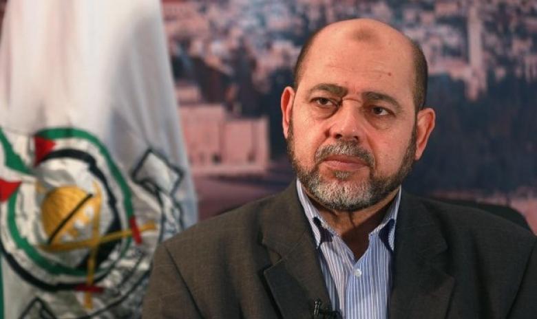 أبو مرزوق: سلاح المقاومة ليس للحوار