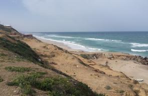 بحر غزة صباح اليوم