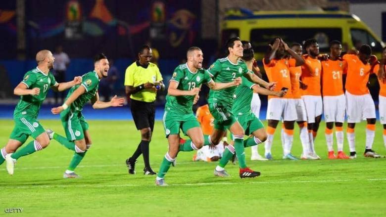 الجزائر تطيح بكوت ديفوار وتبلغ نصف النهائي