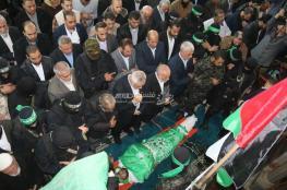 """غزة تشيع القائد """"فقها"""" وسط دعوات بالانتقام"""