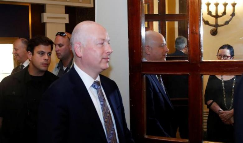 غرينبلات يصل الدوحة قريباً لمناقشة خطة غزة