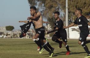 مباراة الشجاعية والصداقة في كأس غزة