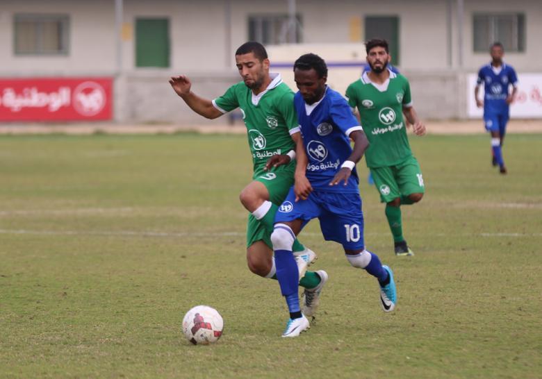 6 مباريات تقام اليوم في دوري غزة