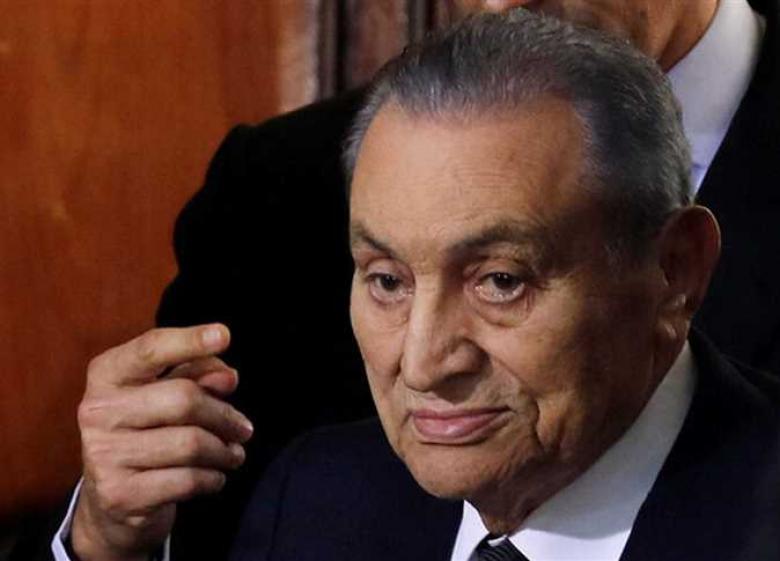 تفاصيل وفاة مبارك ومكان دفنه