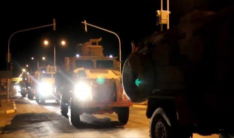 """حشد عسكري تركي مع سوريا بعد """"خفض التوتر"""" بإدلب"""