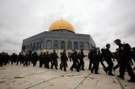 الاحتلال يبعد 15 مواطنا عن الأقصى لفترات متفاوتة