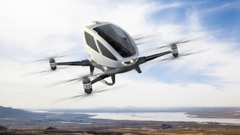 سيارة طائرة ذاتية القيادة