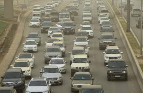 الغبار يكسو سماء العاصمة السعودية الرياض