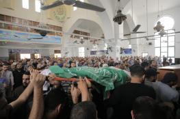 غزة تشيعُ شهداء العدوان الإسرائيلي