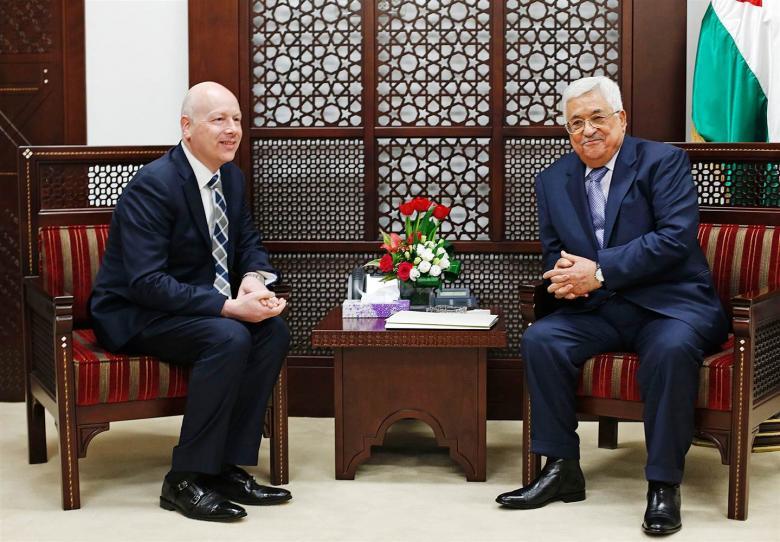 غرينبلات: حان الوقت لإعادة قطاع غزة لحضن السلطة