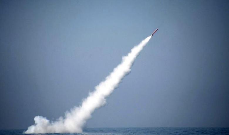 أول صاروخ باكستاني بحري برؤوس نووية