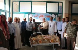 حماس تواصل حملة زيارة عائلات المحافظة الوسطى