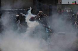 إصابة خطيرة لفتى بقمع الاحتلال مسيرة كفر قدوم