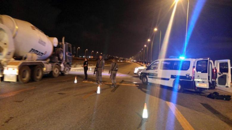 إلقاء قنابل أنبوبية على حاجز إسرائيلي شمال جنين