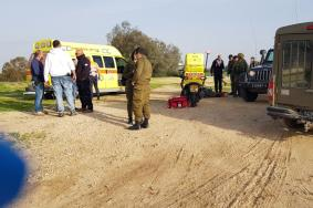 إصابة 4 جنود إسرائيليين بانفجار عبوة شرق خانيونس