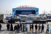 """إيران تكشف عن صاروخ """"فاتح مبين"""" الباليستي"""