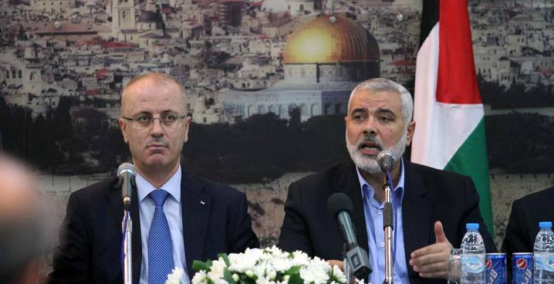 هنية يدين ما تعرض له موكب رئيس الوزراء بغزة