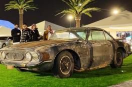 """الرياض.. قصة سيارة مليونية نادرة كانت في """"التشليح"""""""