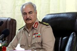 حفتر يلتقي المبعوث الأممي إلى ليبيا