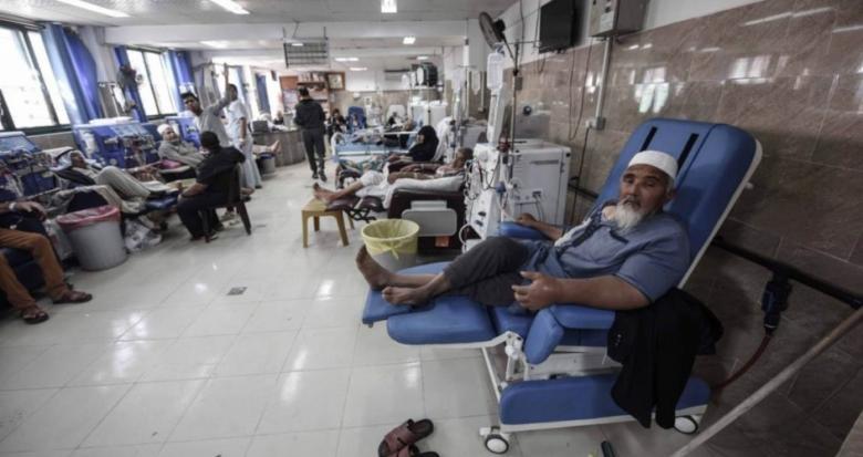 مركز حقوقي يحذر من استمرار أزمة الوقود بمشافي غزة
